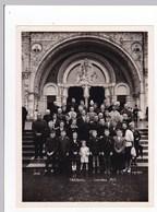 Ancienne Photo Groupe Douarnenez Treboul Pèlerinage Lourdes 1963 - Persone Anonimi