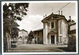 """ROMA - Via Appia Antica - Chiesa """"Domine Quo Vadis"""" -  Cartolina Viaggiata Anno 1934. - Roma (Rom)"""