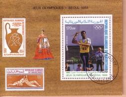 MAURITANIA 1988 : GIOCHI OLIMPICI DI SEUL. - Mauritania (1960-...)