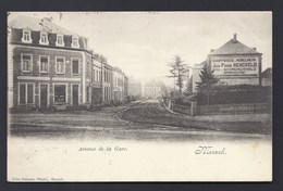 1904 MERSCH AVENUE DE LA GARE HOBELWERK SCHREINER MENUSIER  BOIS HOLZ WOOD AMBULANT LUXEMBOURG Pour DIEKIRCH - Cartes Postales