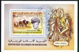 Mauritania 1977 Premi Nobel Blocco 17. - Mauritania (1960-...)