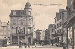 ¤¤  -  GRANVILLE   -  Le Carrefour Du Pont Et La Rue Paul-Poirier    -  ¤¤ - Granville