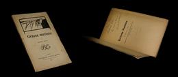 [THEATRE Félix VALLOTTON] ATHYS (Louis-Alfred) - Grasse Matinée. EO, Rare. - Livres, BD, Revues
