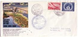 ITALIA PRIMO VOLO ROMA TORINO 1967 . - 1961-70: Storia Postale