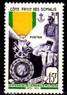 Costa-dei-Somali-0081 - Emissione 1952 (++) MNH - Senza Difetti Occulti. - Costa Francesa De Somalia (1894-1967)