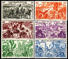 Costa-dei-Somali-0082 - Emissione Di Posta Aerea 1946 (+) LH - Senza Difetti Occulti. - Costa Francesa De Somalia (1894-1967)