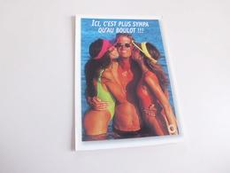 Carte Humoristique ...femmes Sexy...plus Sympa Qu'au Boulot - Humor