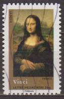 Art, Chefs D'oeuvre De La Peinture - FRANCE - Léonard De Vinci: La Joconde - N° 4135 - 2008 - Usados