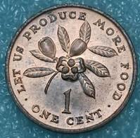 Jamaica 1 Cent, 1972 FAO - Let Us Produce More Food - Jamaica