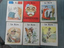 LE RIRE 1907, LOT ANNEE 1907 QUASI COMPLETE, MANQUE 3 N°,  AVEC N° SPECIAUX  JOURNAL LE RIRE - Livres, BD, Revues