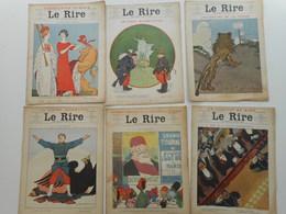 LE RIRE 1911, LOT ANNEE COMPLETE 1911, DU 414 AU 465, ILLUSTRATEURS,  JOURNAL LE RIRE - Livres, BD, Revues