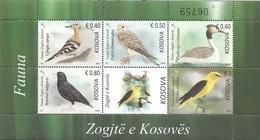 KOS 2018-03 BIRDS, KOSOVO, S/S, MNH - Kosovo