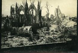 Belgique Nieuport Nieuwpoort Ruines WWI Désastres De La Guerre Ancienne Photo 1918 - Guerre, Militaire