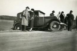France Mémoires D'une Dépanneuse Accident De Voiture Ancienne Photo 1935 - Automobiles