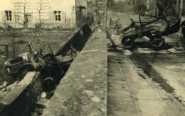 France Mémoires D'une Dépanneuse Accident De Voiture Camion? Ancienne Photo 1935 - Cars