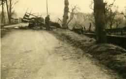 France Mémoires D'une Dépanneuse Accident De Camion? Ancienne Photo 1935 - Cars