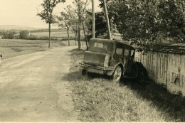 France Mémoires D'une Dépanneuse Accident De Voiture Ancienne Photo 1935 - Cars