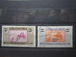 VEND TIMBRES DE MAURITANIE N° 54 + 56 , NEUFS AVEC ET SANS CHARNIERES !!! - Unused Stamps