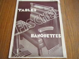 Catalogue Ancien FISCHEL Vers 1935/mobilier De Bar - Vieux Papiers