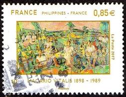 Oblitération Cachet à Date Sur Timbre De France N° 5159, Relations Avec Les Philippines (0.85) - France