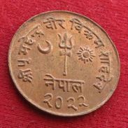 Nepal 10 Paisa 1965 Wºº - Nepal