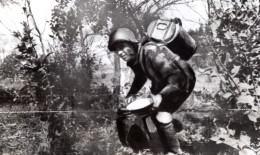 WWII Cuisinier De L'Armee Russe Sur Le Front De L'Est Ancienne Photo 1941 - War, Military