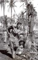 WWII Los Negros RAAF JG Kennar De Coonabarabran Australie Ancienne Photo 1944 - War, Military