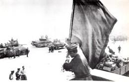 WWII Bielorussie Minsk Reprise Aux Allemands Par L'Armee Russe Ancienne Photo 1944 - War, Military