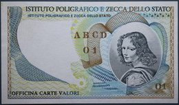 ITALIA IPZS PROVA DI STAMPA FDS Lotto 2130 - 1000 Lire