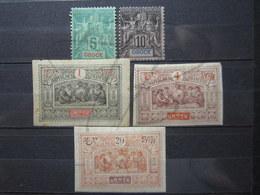 VEND LOT DE TIMBRES D ' OBOCK , NEUFS AVEC CHARNIERES !!! - Unused Stamps