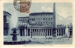 CENT 1 Posta Pneumatica Roma Centro  Cartolina Lb160 - 1900-44 Victor Emmanuel III.