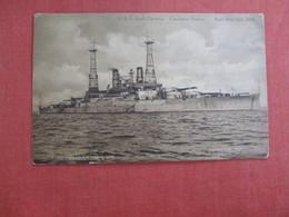 U.S.S. South Carolina Charleston Harbor  April 10-15  1910   Ref 3016 - Warships
