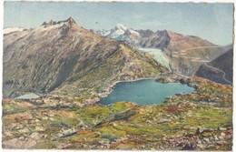 Grimselpasshohe 2175 M Totensee Gegen Rhonegletscher Und Furkastrasse, Unused Postcard [21572] - VS Valais