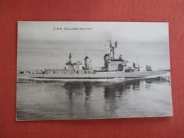 U.S.S.  Zellars  DD 777  Ref 3016 - Warships