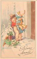 Thèmes - Illustrateurs - Signés - Mauzan, L.A. - Bonne Année - Enfant - Mauzan, L.A.