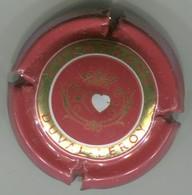 CAPSULE-CHAMPAGNE DUVAL LEROY N°43x Rouge Foncé Or & Blanc Verso Rouge - Duval-Leroy