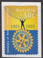 Australia ASC 2197a 2005 Rotary, From Booklet, Mint Never Hinged - 2000-09 Elizabeth II