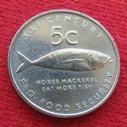 Namibia 5 Cents 2000 FAO F.a.o. Namibie UNCºº - Namibie