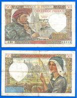France 50 Francs 1940 26 Septembre Jacques Que Prix + Port Coeur Paypal Skrill Bitcoin OK - 1871-1952 Anciens Francs Circulés Au XXème