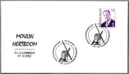 MOLINO HERTBOMM - WIDMILL - WINDMOLEN. Lombeek 2002 - Molinos
