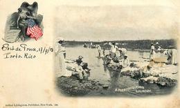 Ponce - Puerto Rico - Porto Rico - 1903 - A Puertoriquenan Laundry - Belle Animation - AA30 - Puerto Rico