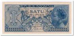 INDONESIA,1 RUPIAH,1956,P.74,UNC - Indonesia