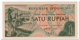 INDONESIA,1 RUPIAH,1961,P.78,UNC - Indonesia