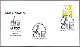 FESTIVAL DE LA SIDRA - CIDER FESTIVAL. Nava, Asturias, 2005 - Bebidas
