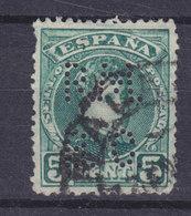 Spain Perfin Perforé Lochung 'R.M.B.C.' 1901 Alfons XIII. Stamp (2 Scans) - Abarten & Kuriositäten