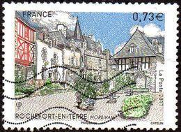 Oblitération Moderne Sur Timbre De France N° 5155 - Rochefort En Terre, Morbihan - France