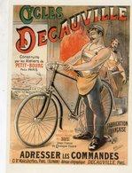 Cycles Decauville  -  Publicité Vélos   -  CPM - Cycling