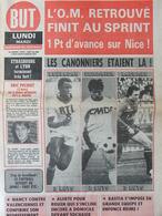 Football - Journal BUT N°596 (19 Déc 1977) O.M - Strasbourg - E Pécout - Rouen - Bastia - 1950 - Today