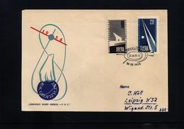Polen / Poland / Polska 1958 International Geophysical Year FDC - International Geophysical Year