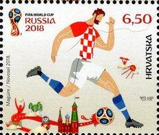 Croatia - 2018 - FIFA World Football Cup In Russia 2018 - Mint Stamp - Croatia